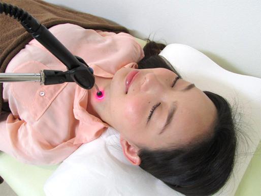 レーザー活性化治療写真